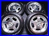 【中古スタッドレスタイヤ】【送料無料】4本セット ブリヂストン ブリザック DM-V2 225/65R18  / WEDS Farmas 18x8.0 45 114.3-5穴  ムラーノに! 中古タイヤ W18170403016