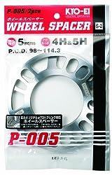 KYO-EI [ 協永産業 ] Wheel Spacer [ 5mm 4 5H ] PCD98-114.3 [ 個数:2枚 ] P-005-2P