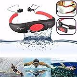 ELEGIANT 【 完全防水仕様 】 MP3プレイヤー 完全防水型 プール 音楽プレイヤー 防水等級 IPX8 水中 スイミング、シャワー、お風呂など
