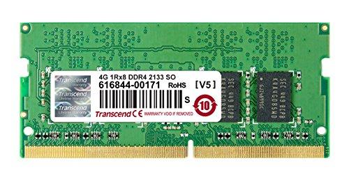 Transcend ノートPC用メモリ PC4-17000(DDR4-2133) 4GB 1.2V 260pin SO-DIMM TS512MSH64V1H