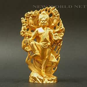【仏像】 トイレを守って頂く神様 烏枢沙摩明王像