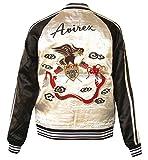 (アビレックス)AVIREX 刺繍リバーシブルスーベニアジャケット WHITE (XL)