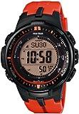 [カシオ]Casio 腕時計 PROTREK プロトレック トリプルセンサーVer.3搭載 世界6局電波対応ソーラーアウトドアウォッチ PRW30004JF