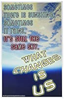 Youth Change Workshops Inspirational Counselling Guidance Poster Helps Students Cope (Poster 567)