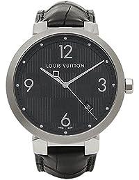 (ルイヴィトン) LOUIS VUITTON ルイヴィトン 時計 メンズ LOUIS VUITTON Q1D002 タンブールダミエ 腕時計 ウォッチ ブラック [並行輸入品]
