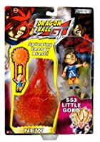 Jakks Pacific Year 2004 Dragon Ball GT Series 3 Inch Tall Action Figure - SS3 LITTLE GOKU with Spinning Energy Blast