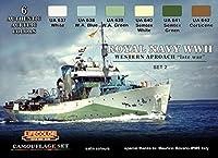 ww2イギリス海軍カラーセット2ウエスタンアプローチ
