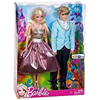 Barbie Prince and Princess Gift Set (Colours/Styles Vary)