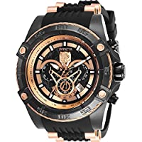 Invicta Men's 26804 Marvel Quartz Multifunction Black Dial Watch