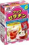森永製菓 クックゼラチン 6袋入り (5g×6P)×6箱