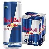 Red Bull Energy Drink, 250ml, (Pack of 4)