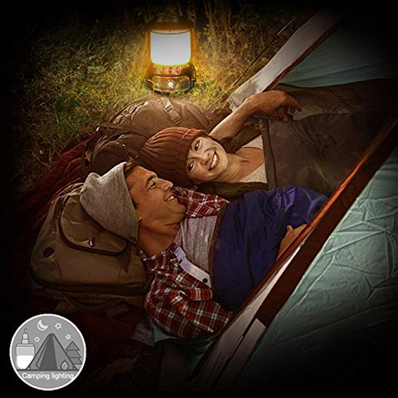 倍増軽減ブレーキキャンプライト Majoreal 多機能の屋外のキャンプライトLED再充電可能な携帯用非常灯