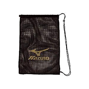 MIZUNO(ミズノ) プールバック メッシュバッグ(L) N3JM700109 W46×H68cm ブラック