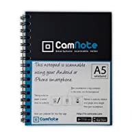 CamNote a5メモ帳( Works with CamNote App – iPhone Android )