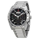 チューダーFastriderクロノグラフブラックダイヤルステンレス鋼メンズ時計42000–95730