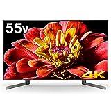 ソニー 55V型地上・BS・110度CSデジタル4Kチューナー内蔵 LED液晶テレビ(別売USB HDD録画対応)Android TV 機能搭載BRAVIA KJ-55X9500G