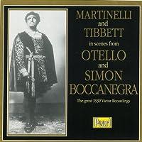 Scenes from Otello etc