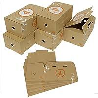 コミック CD DVD 収納 ボックス ケース 10個セット B6版 漫画 単行本 (オレンジ)