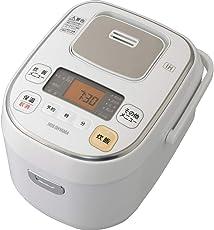 アイリスオーヤマ 炊飯器 IH 3合 米屋の旨み ホワイト ERC-IB30-W