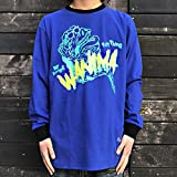 WANIMA JUICE UP!! TOUR FINAL 会場限定販売 WANIMA×LEFLAH PIG MONSTAR ロンT BLUE 青 (Lサイズ)