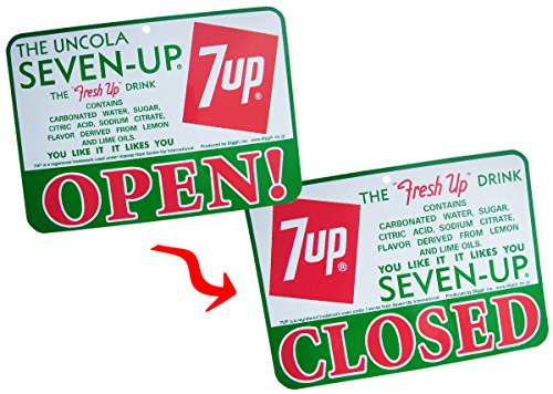 7-UP OPEN/CLOSED SIGN BOARD B ...