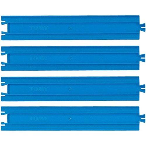 [해외]짱구 부품 R-01 직선 레일 2 개 세트/Plarail part R-01 straight rail 2 piece set