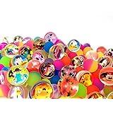 スーパーボール ディズニーフレンズ アソートミックス 250入 / お楽しみグッズ(紙風船)付きセット [おもちゃ&ホビー]