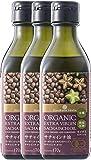 有機JAS認定 エキストラバージン オーガニック サチャインチオイル 170g 3本 低温圧搾一番搾り オメガ3 JAS Certified Organic First Squeeze Extra Virgin Sacha Inchi Oil (Cold Pressed and Unrefined)