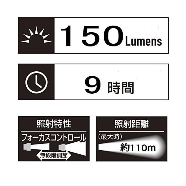 GENTOS(ジェントス) LED懐中電灯 ...の紹介画像12