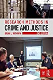 Cover of Research Methods in Crime and Justice (Criminology and Justice Studies Book 23)
