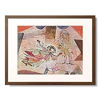 パウル・クレー Paul Klee 「Message from the sylph. 1920.」 額装アート作品
