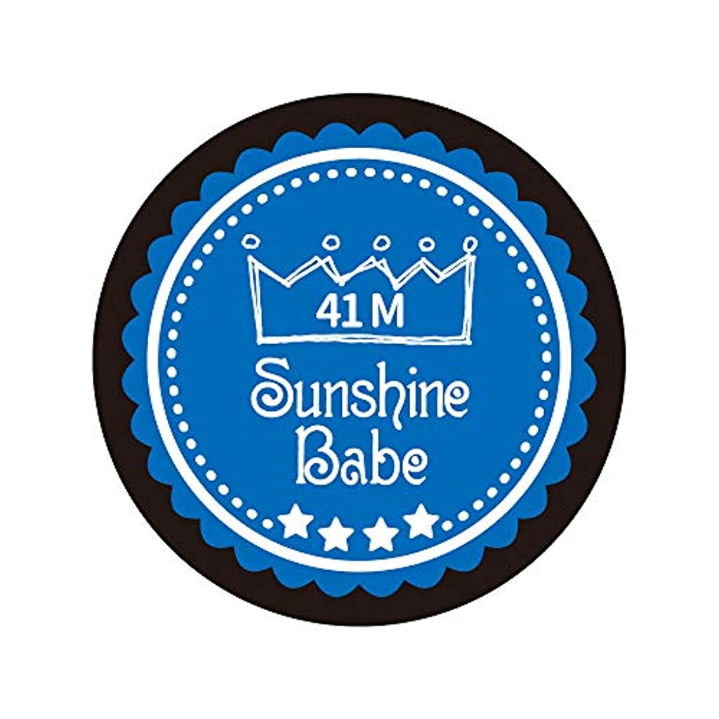 ロシアステープルどきどきSunshine Babe カラージェル 41M ネブラスブルー 4g UV/LED対応