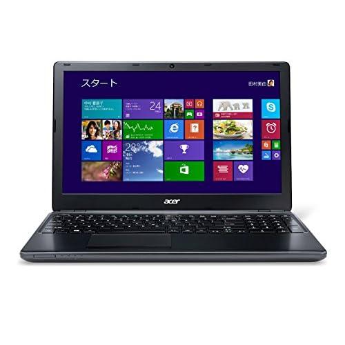 Acer Aspire E1(Corei3-3217U/4G/500G/Sマルチ/15.6/Win8.1(64bit)/ブラック) E1-570-F34D/K