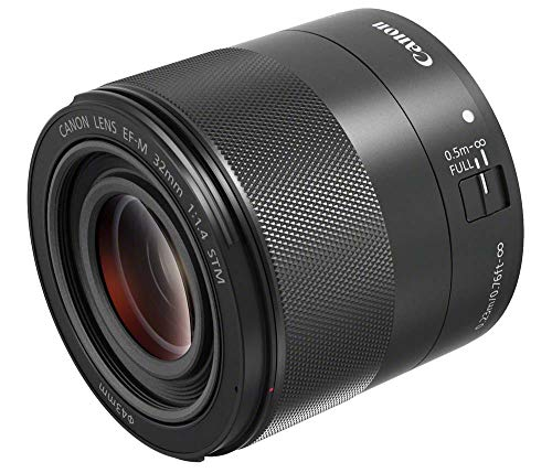 Canon 単焦点レンズ EF-M32mm F1.4 STM ミラーレス一眼対応 EF-M3214STM