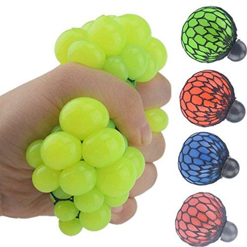 Lommer_p子供のおもちゃグレープ ストレス解消ボールを発散する子供たちの製品ボール...