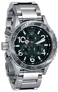 NIXON (ニクソン) 腕時計 THE 42-20 CHRONO BLACK  NA037000-00 メンズ [正規輸入品]