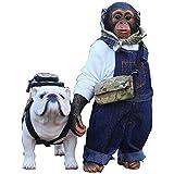 チンパンジー&ブルドッグ 1/6 フィギュア MRZ023