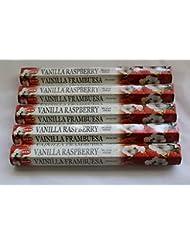 Hemバニララズベリー100 Incense Sticks ( 5 x 20スティックパック)