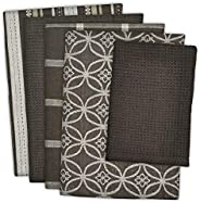 DII 100% Cotton, Ultra Absorbent, Oversized, Washing, Drying, Basic Everyday Kitchen Dishtowel 18 x 28 & Dishcloth 13 x 13,
