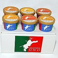 ジェラート専門店ジェラテリアUNO 愛媛産高級柑橘ジェラート アイスクリーム 6個B2セット のし メッセージカード対応