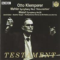 Symphony 2: Resurrection / Symphony 29 by MAHLER & MOZART