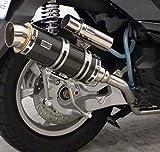 ウイルズウィン トリシティ125 SE82J ロイヤルマフラー スポーツ ブラックカーボン仕様