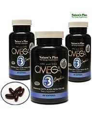 オメガ3 EPA &DHA OMEGA3 complete サプリメント3本セット[海外直送品]