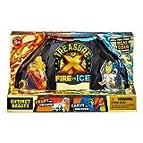 Treasure X Fire vs Ice Extinct Beasts Pack