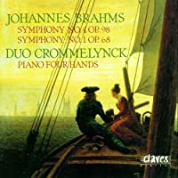 Symphonies 4 and 1 for Piano F