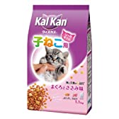 カルカンウィスカス 海と大地の6品目 12ヶ月までの子猫用 まぐろとささみ味 1.1kg