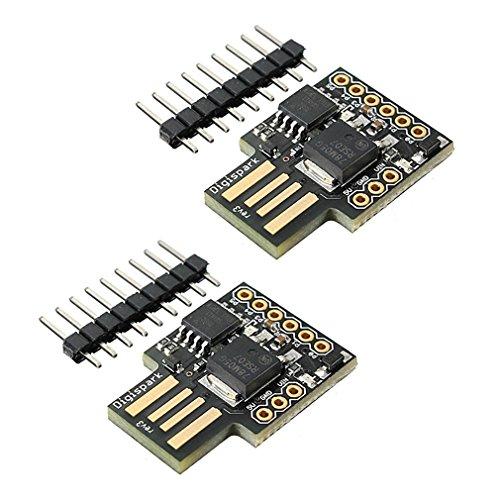 HiLetgo Digispark Kickstarter ATTINY85 Arduino Micro USB 開発ボード(2個セット) [並行輸入品]