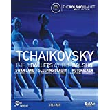 Tchaikovsky: 3 Ballets at the Bolshoi [Blu-ray] [Import]