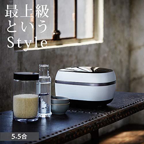 タイガー GRAND X 炊きたて 土鍋IH炊飯ジャー 5.5合 JPG-X100-WF