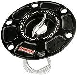 ACCOSSATO(アコサット) アルミ フューエルタンクキャップ Ver.3 MVアグスタ F3 ブルターレ675/800 シルバー